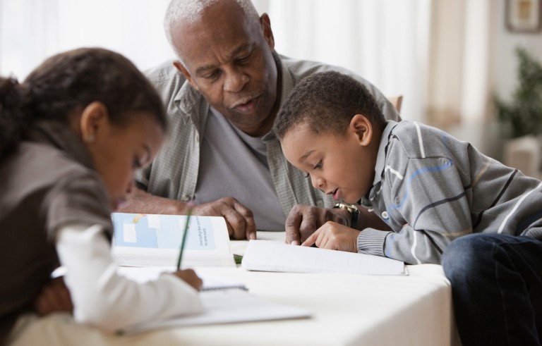 Nationwide, 2.7 million grandparents are raising grandchildren, and about one-fifth of those have incomes that fall below the poverty line, according to census figures. Photo illustration by Getty Images
