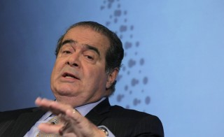 U.S. Supreme Court Justice Antonin Scalia speaks at a Reuters Newsmaker event in New York on Sept. 17, 2012. Scalia was the longest-serving justice and a leading conservative on the court. Photo by Brendan McDermid/Reuters