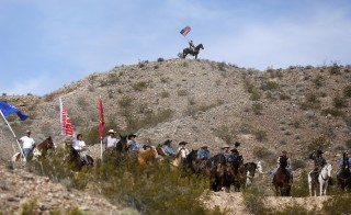 A federal grand jury indicted Cliven Bundy, his sons Ammon and Ryan Bundy, and two others for their roles in a 2014 standoff at Cliven Bundy's ranch in Bunkerville, Nevada. All of the defendants were involved with the armed occupation of the Malheur National Wildlife Refuge in January. Photo by Jim Urquhart/Reuters