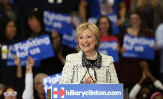 "Democratic U.S. presidential candidate Hillary Clinton speaks about the results of the South Carolina primary to supporters at a primary night party in Columbia, South Carolina, February 27, 2016. Clinton won the South Carolina primary over rival Bernie Sanders, several networks projected, propelling her into next week's crucial ""Super Tuesday"" voting in 11 states on a wave of momentum.  Randall Hill/Reuters"