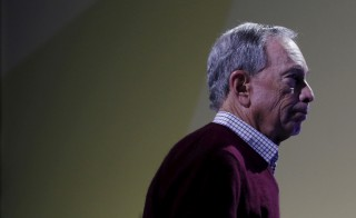 Former New York City Mayor Michael Bloomberg attends a meeting during the World Climate Change Conference 2015 near Paris, France. Photo by Stephane Mahe/Reuters