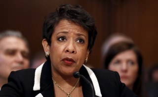 Photo of U.S. Attorney General Loretta Lynch by Carlos Barria/Reuters