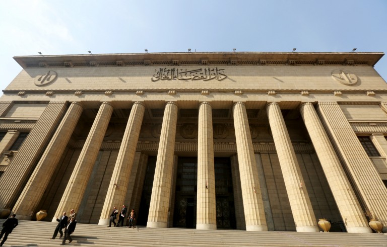 A view of the High Court of Justice in Cairo, Egypt, January 21, 2016. Egypt's highest appeals court adjourned the retrial of former president Hosni Mubarak until April on charges over the killing of protesters during the 2011 uprising that ended his 30-year rule. REUTERS/Mohamed Abd El Ghany - RTX23D41