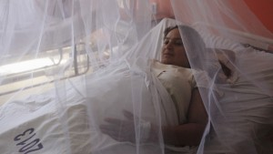 Pregnant women are covered with mosquito nets at the Women National Hospital in an effort to prevent being bitten by mosquitoes that might carry Zika, Dengue and Chikungunya viruses, in San Salvador, El Salvador February 5, 2016.  REUTERS/Jose Cabezas - RTX25NTM