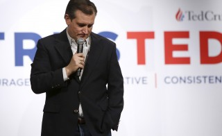 "Republican U.S. presidential candidate Senator Ted Cruz (R-TX) holds a rally at Morningstar Fellowship Church in Fort Mill, South Carolina February 11, 2016. Hours before Saturday's Republican presidential debate, the Texas senator called U.S. Supreme Court Justice Antonin Scalia an ""American hero."" Jonathan Ernst/Reuters"