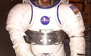 Teacher Jennifer Cheesman at the Space Educators Exploration Conference, Houston, Texas. Photo courtesy of Jennifer Cheesman
