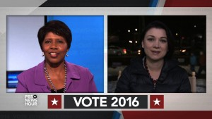 Gwen Ifill and Tamara Keith
