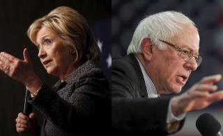 Debate faceoff between Hillary clinton and Bernie sanders