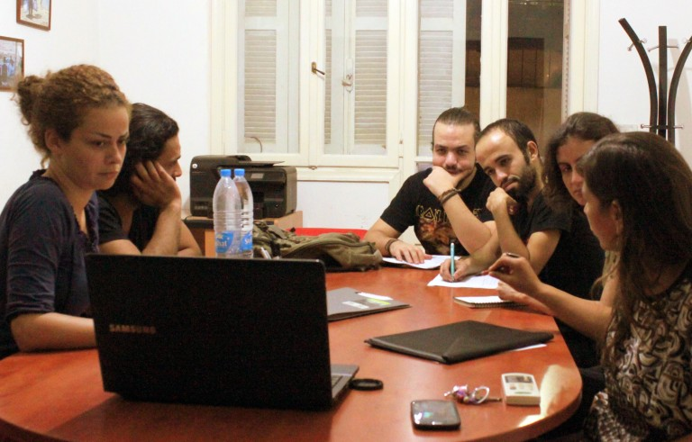 Organizers of the NaTakallam website, which began in 2015, connect Syrian refugees in Lebanon with students trying to learn Arabic. Photo courtesy NaTakallam