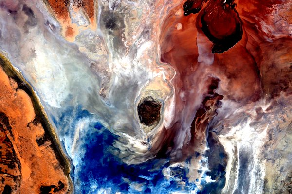 """Pictures like this make me really regret that my watercolors didn't make it up here,"" NASA astronaut Scott Kelly wrote on Nov. 22, 2015. Photo by Scott Kelly/NASA/via Twitter"