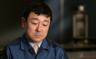 """""""We were fighting an invisible enemy -- out-of-control reactors."""" -- TEPCO engineer Takeyuki Inagaki. Photo by Cameron Hickey"""