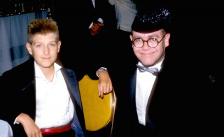 Caption:Ryan White and Elton John during Lester Cohen Archives in Los Angeles, California, United States. Photo by L. Cohen/WireImage