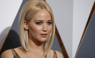 "Jennifer Lawrence, pictured here at the Academy Awards in Hollywood on Feb. 28, 2016, spoke out against the release of nude photos of herself and other celebrities in 2014, calling it a ""sex crime."" Photo by Adrees Latif/Reuters"