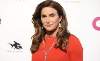 Caitlyn Jenner arrives at the Elton John AIDS Foundation Academy Awards Viewing Party in West Hollywood, California. Photo by Gus Ruelas/Reuters