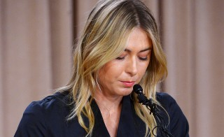 Three of Maria Sharapova's sponsors distanced themselves from the tennis star Tuesday after she announced failing a drug test at the Australian Open in January. Photo by Jayne Kamin-Oncea/USA TODAY Sports/Reuters