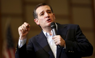 "Republican presidential hopeful Sen. Ted Cruz said it is time for law enforcement to ""patrol and secure Muslim neighborhoods before they become radicalized."" Photo by Jason Miczek/Reuters"