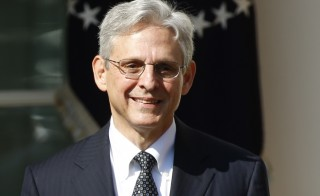 Appeals Court Judge Merrick Garland speaks in the Rose Garden of the White House after being nominated by President Barack Obama (not pictured) to the U.S. Supreme Court in Washington March 16, 2016. Photo by Kevin Lamarque/Reuters