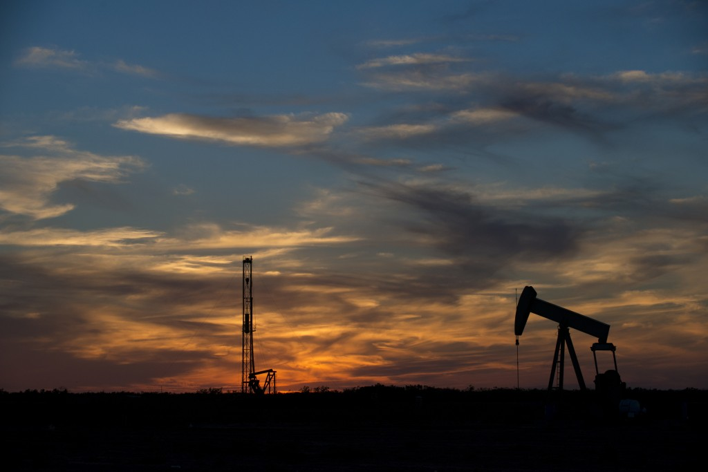 Rigging equipment is pictured in a field outside of Sweetwater, Texas June 4, 2015. Photo by Cooper Neill/REUTERS