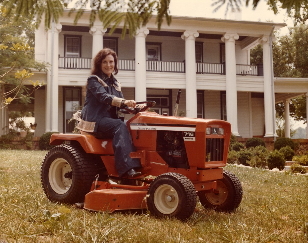 Loretta Lynn on a tractor. Photo provided by Loretta Lynn Enterprises Inc.