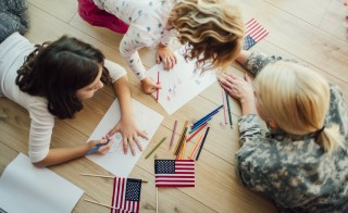 More military families are opting for home school, mainly for the flexibility. Photo by Vgajic/Getty