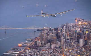 Two pilots took a nearly three-day flight over the Pacific Ocean in the Solar Impulse-2, a plane powered by the sun. The duo landed safely in California Saturday night. Getty Images