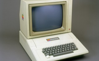 The Apple II was designed and built by Steve Jobs and Steve Wozniak by the end of 1976. It was the first mass-marketed personal computer. Photo by SSPL/Getty Images