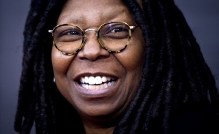 Whoopi Goldberg has launched her own line of marijuana-based edibles and bath products designed to ease women's menstrual pain. Photo by Carlo Allegri/REUTERS