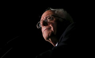 File photo of Democratic presidential candidate Bernie Sanders in March by Shannon Stapleton/Reuters