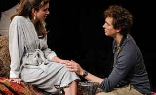 Allia Attallah and Quinn Frazen in Threesome. Photo by Patrick Weishampel, courtesy of ACT, Seattle