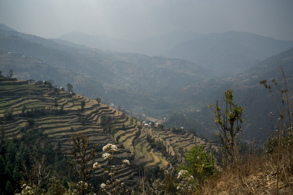 A view of the village Chyasingkharka in central Nepal shows how mountainous the country can get. Photo courtesy of Mercy Corps