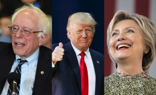 Between Bernie Sanders, Donald Trump and Hillary Clinton, which candidate is the most authentic New Yawker?