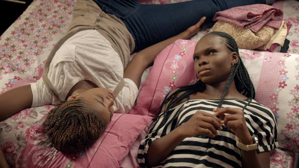 "The character Mary (right) talks to her friend about her ""sugar daddy."" Photo courtesy of ""MTV Shuga"""