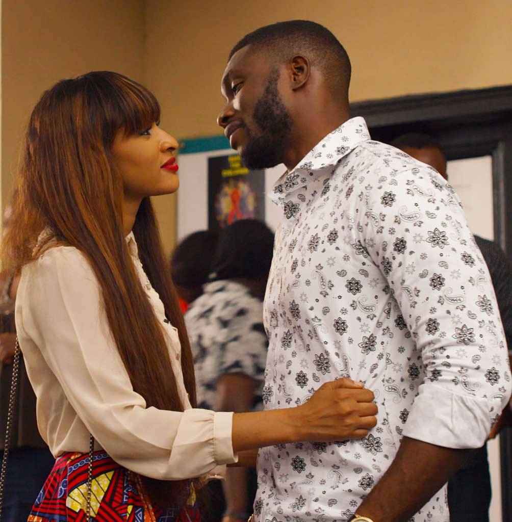 "The characters Sheila and Femi are dating and grappling with the social stigma of HIV. Photo courtesy of ""MTV Shuga"""