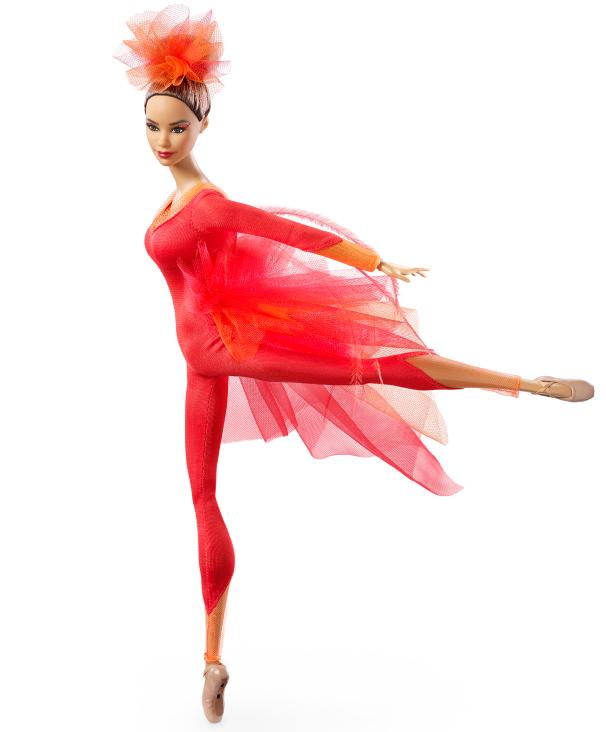 Mattel unveiled the Misty Copeland Barbie Doll Monday