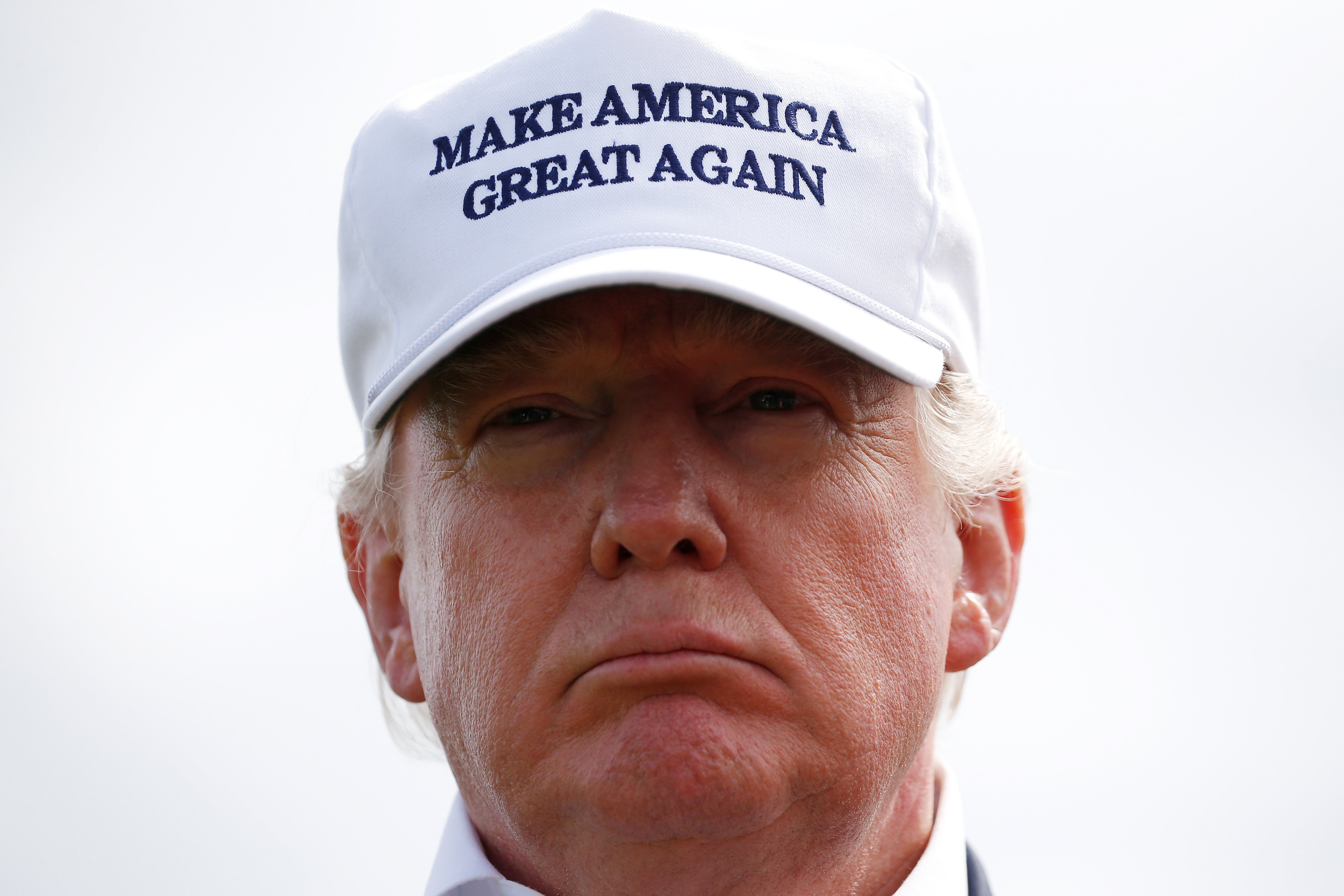 0f0988fcd8a7 Are Trump s  Made in USA  hats really made in USA
