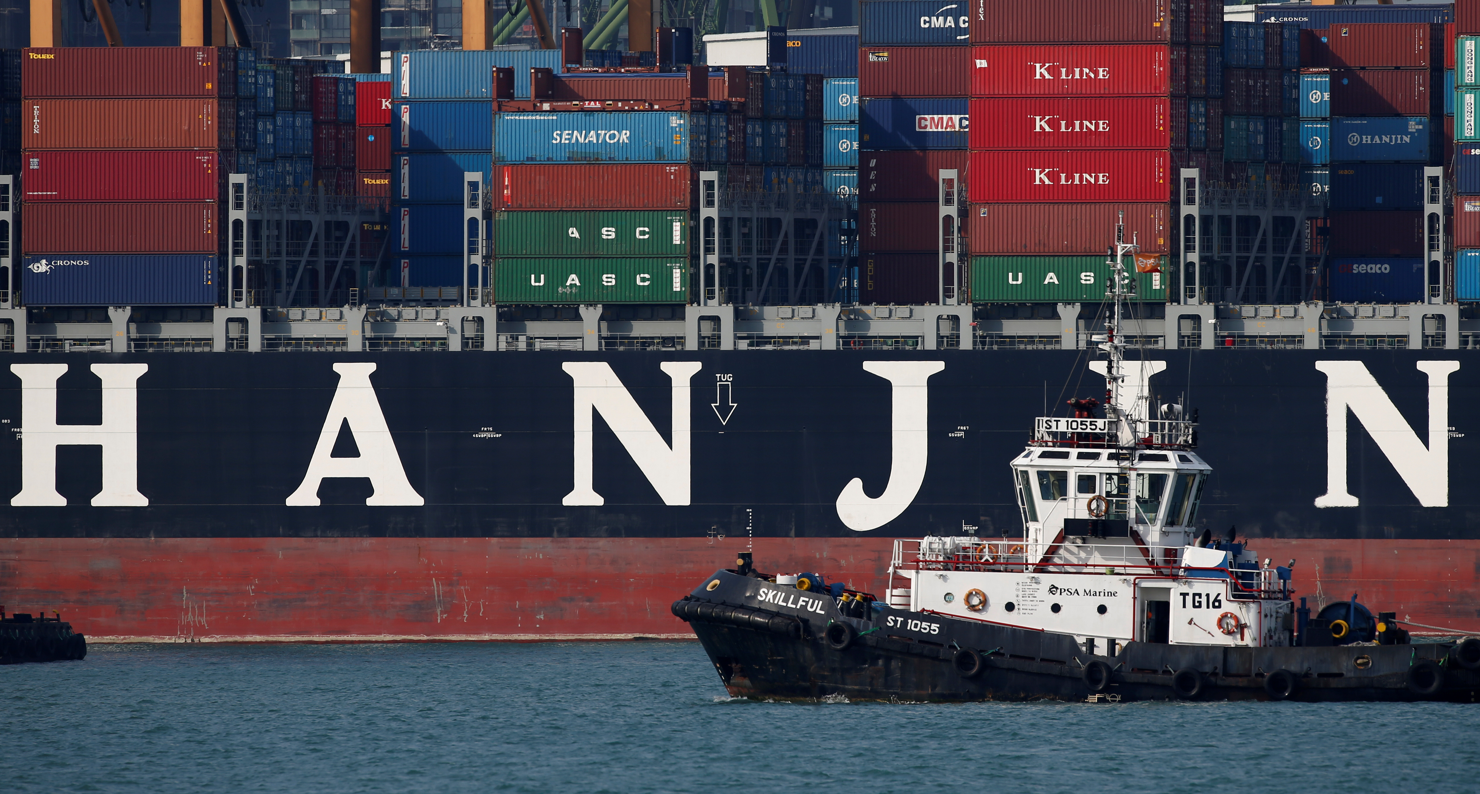 Column: This South Korean shipping company's collapse could