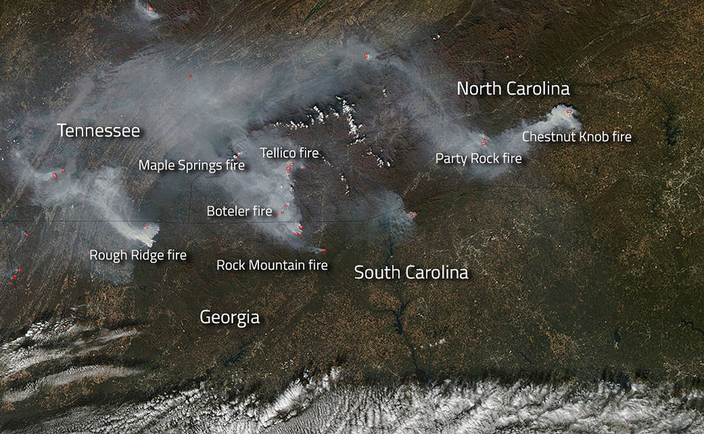 How big droughts, forest fires could be the new normal in Appalachia ...