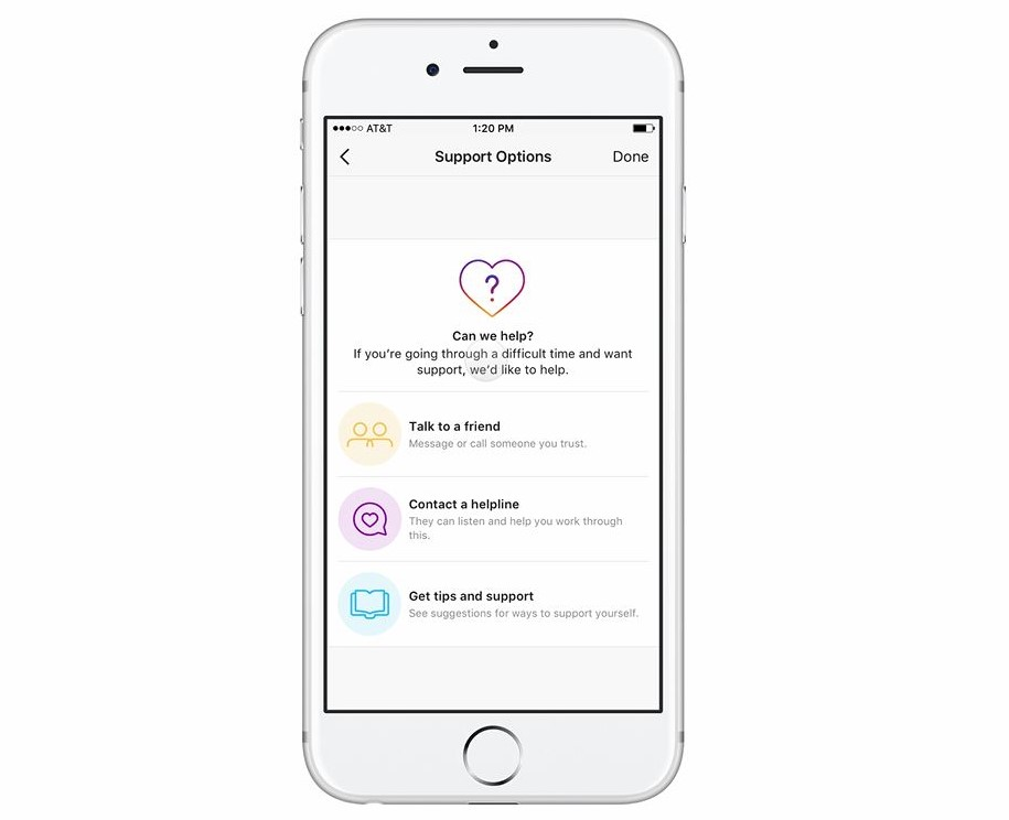 Can Instagram's new tool really help users who self-harm