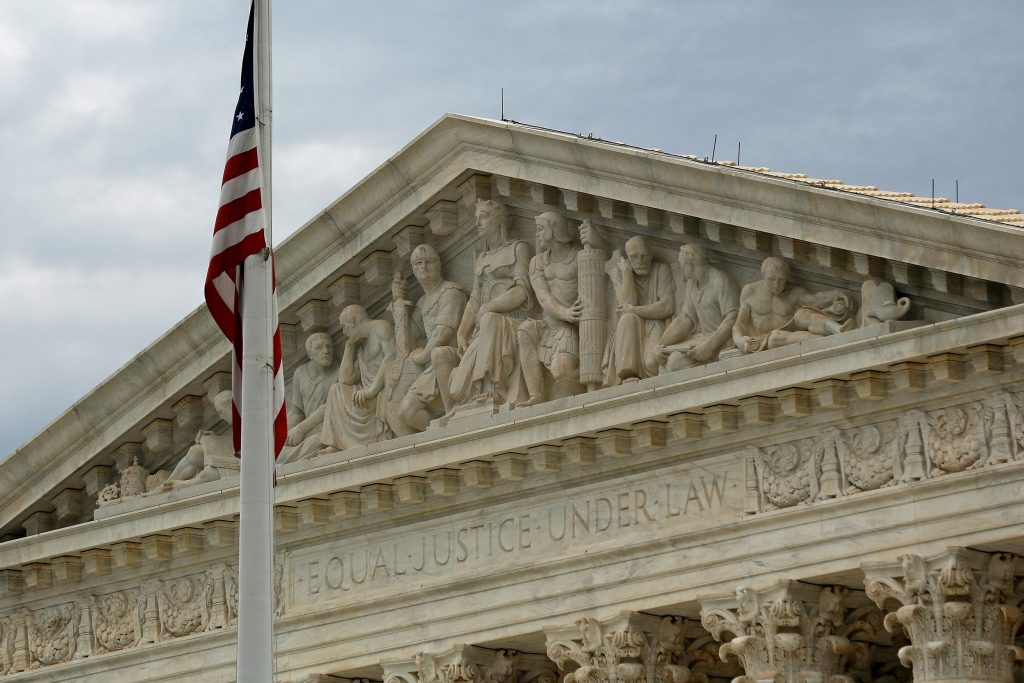 A view of the U.S. Supreme Court building is seen in Washington, DC, U.S. on October 13, 2015. Photo by Jonathan Ernst/ Reuters