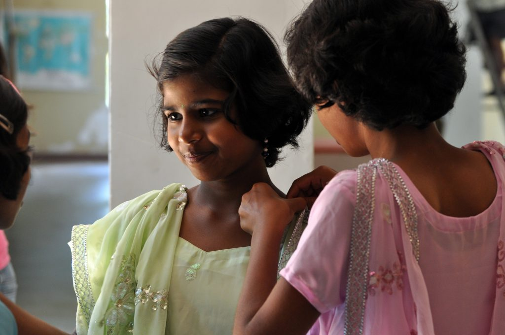 "The documentary ""Daughters of Destiny"" tracks the lives of five girls at Shanti Bhavan, a school for the poor in India. Screen image courtesy of Netflix"