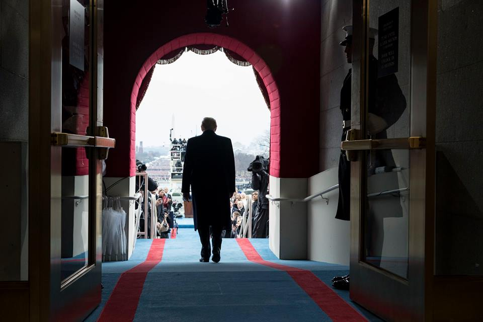 What it's like to be President Trump's White House photographer