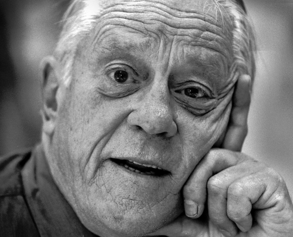 Ben Bradlee was executive editor of The Washington Post from 1968–1991. He died Tuesday at the age of 93. Photo courtesy of The Washington Post