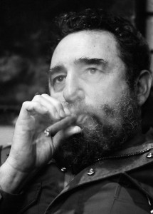 Fidel Castro in 1977 in Havana. Photo by David Hume Kennerly/Getty Images
