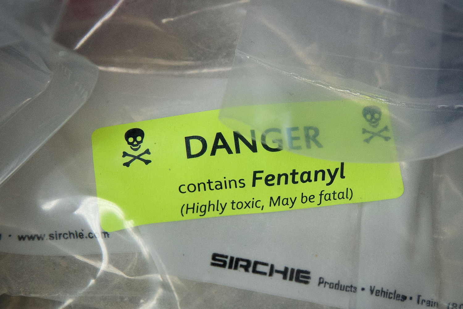A bag of Fentanyl