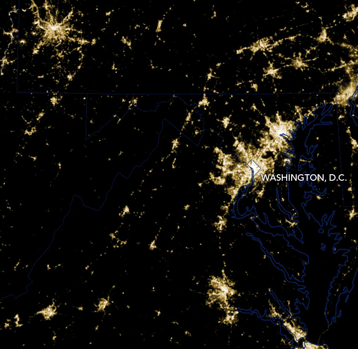 Before and After Photos: Washington-Baltimore Area Power Outages | PBS ...