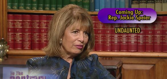 Woman Thought Leader: Rep. Jackie Speier<br>(D-CA)