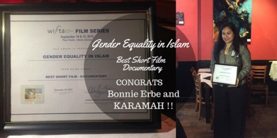 ''Gender Equality in Islam''<br>Wins WIFTA Award