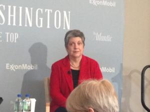 DHS Secretary Janet Napolitano in a Q &A session