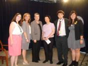 Secretary of Homeland Security Janet Napolitano and TTC host Bonnie Erbe