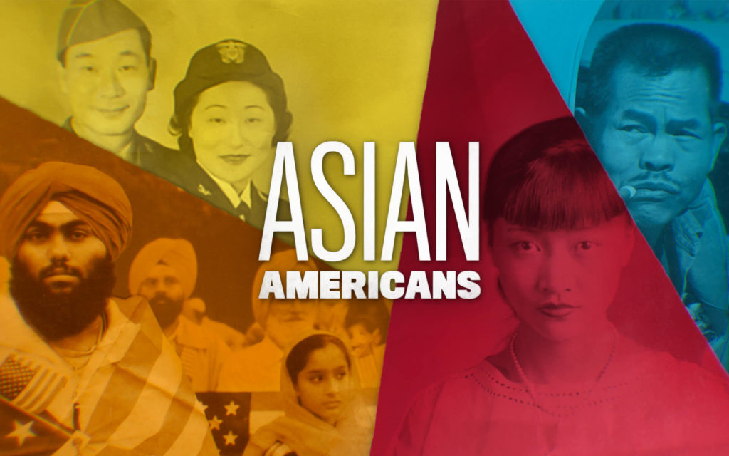 Asian Americans title card